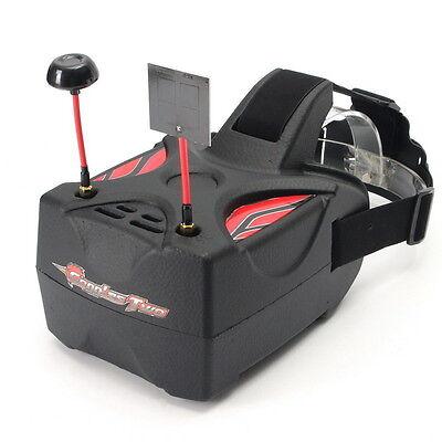 "Eachine Goggles Two FPV 5"" 5.8G 40CH Raceband VR Glasses HD 1080p HDMI Diversity"