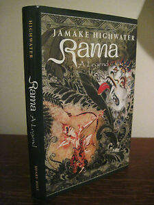 1st-Edition-RAMA-A-LEGEND-Jamake-Highwater-FIRST-PRINTING-Native-American-INDIAN
