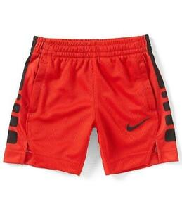 Nike Boys Shirt Dri-Fit Basketball Long Sleeve Sizes 5 6 7 Orange