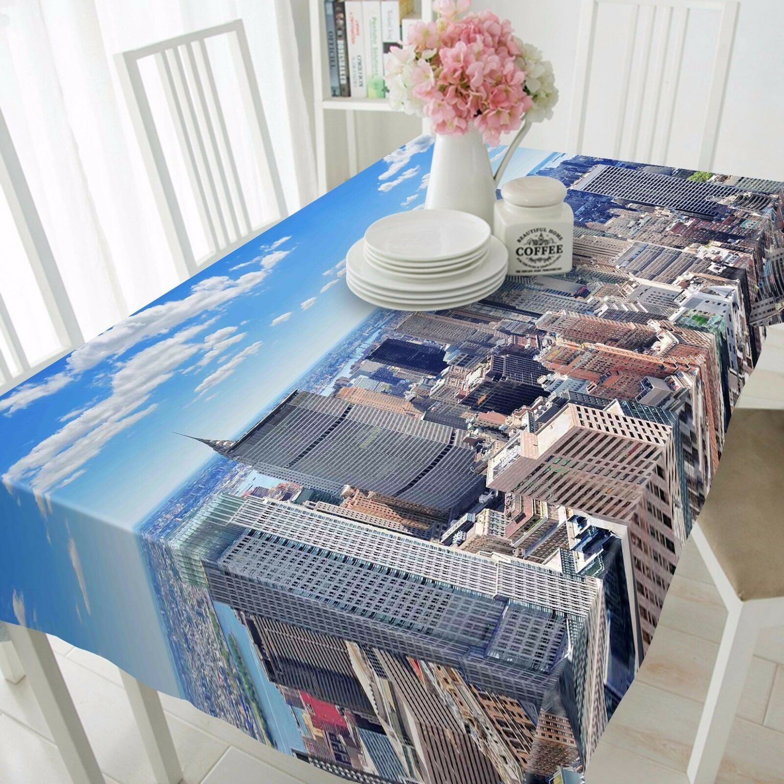3D City 4671 Tablecloth Table Cover Cloth Birthday Party Event AJ WALLPAPER AU