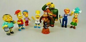 Simpsons-8-Figuren-2007-Fox-Corporal-Bart-Milhouse-Ralphie-Willie-Sideshow-Mel