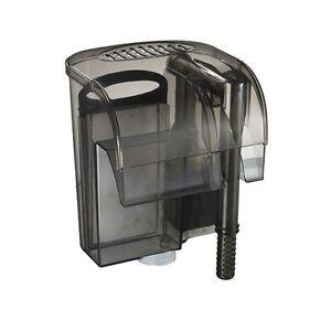 480l h aquarium zum anh ngen hintere wasserfall filter f r externe filtrierung ebay. Black Bedroom Furniture Sets. Home Design Ideas