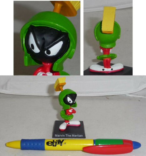 RARE METAL Figure MARVIN THE MARTIAN Looney Tunes ITALIAN Collection MINT NEW