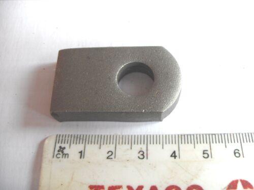Self colour gate eye to weld flat base 12 mm