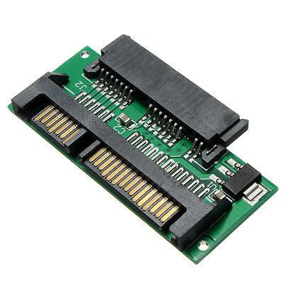"""1.8"""" Mini Micro SATA MSATA to 7+15 2.5"""" SATA Adapter Converter Card ZH"""