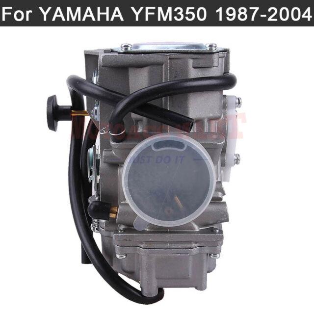 New YFM350 Carburetor+Intake Manifold For Yamaha Warrior 350 YFM350 X 1987-2004 ATV Quad Carb Hand Choke