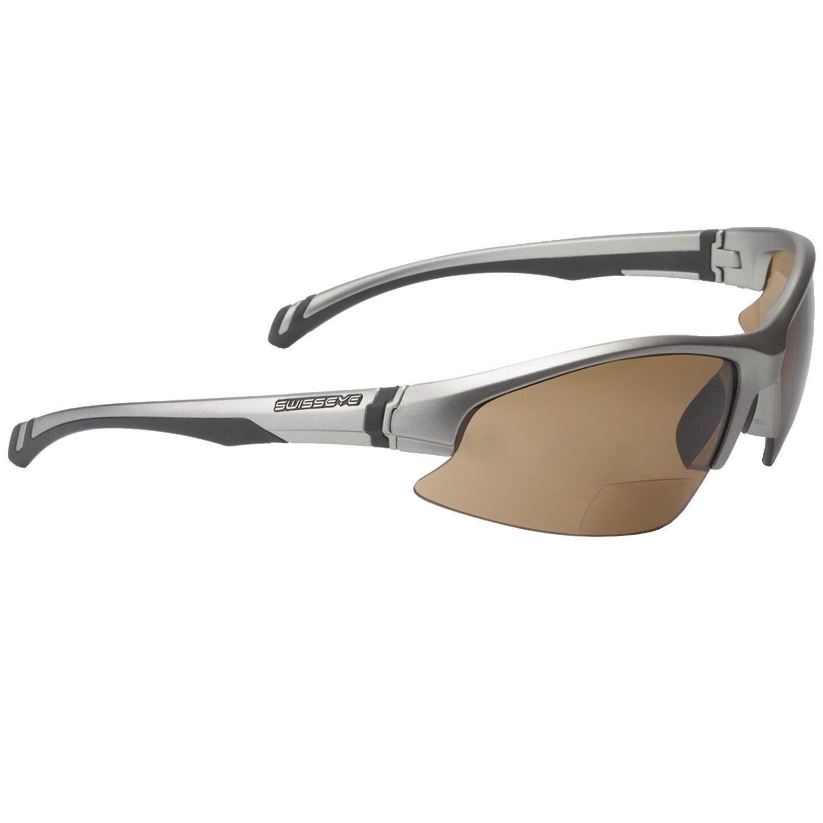 Swisseye Fahrrad Sport Brille Flash Bifocal 2,5 Dioptrie Sehstärke MTB Trail FR
