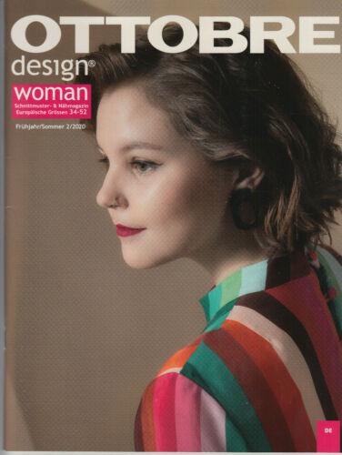 OTTOBRE design WOMAN Fashion Ausgabe 2 // 2020 ungeöffnet neu ungelesen