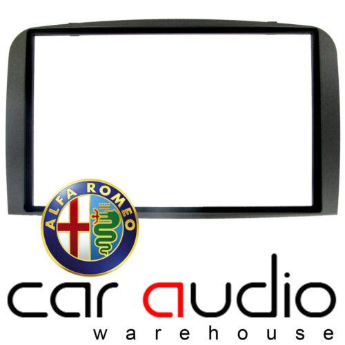 CT24AR10 Alfa Romeo GT 2004-2010  Car Stereo DARK GREY Double Din Fascia Panel