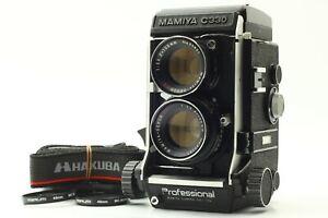 Quasi-Nuovo-con-Cinturino-Mamiya-C330-PRO-TWIN-LENS-REFLEX-Sekor-105mm-f3-5-DS-PUNTO-BLU-GIAPPONE