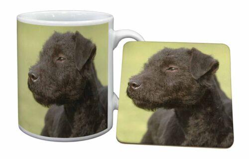 Patterdale Terrier Dogs Mug+Coaster Christmas//Birthday Gift Idea AD-PT1MC