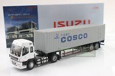 1/50 Scale ISUZU EXR COSCO Tractor Trailer Truck DieCast