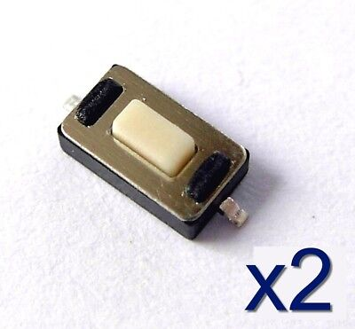 5x Micro switch rupteur 3,5 x 6 x 2,5mm Button Touch switch Contact SMD 2 pins