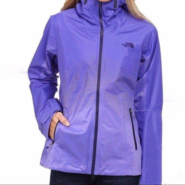 f77747afd The North Face Women Fuseform Dot Matrix Rain Jacket Starry Purple Large