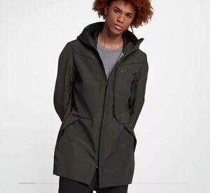 15923e9397ee Image is loading NSW-Nike-Sportswear-Tech-Shield-Hoodie-Jacket-Sequoia-