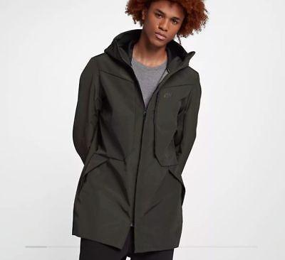 Nike Sportswear Tech Shield Men/'s Jacket Black 886162 010 Size L XL NWT