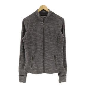 Lululemon-Define-Jacket-Gray-Women-039-s-8-Long-Sleeve-Mock-Neck-Full-Zip-Thumbholes