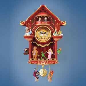 Disney The Muppet Show Wall Cuckoo Clock & 2015 ... - YouTube