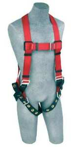 PROTECTA-1191236-Full-Body-Harness-S-420-lb-Red