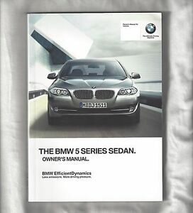 2011 bmw 535xi owners manual