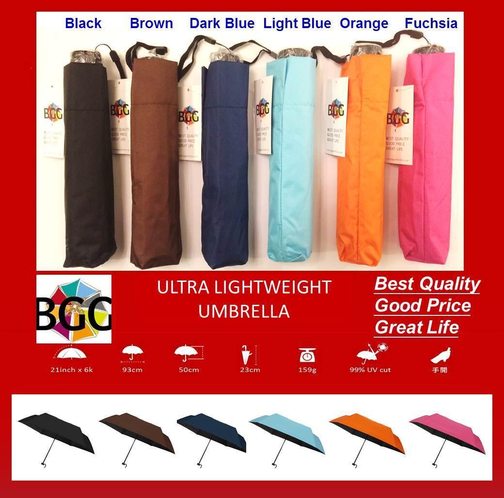 *BGG* Compact Folding Easy Lightweight Small Umbrella Rain Sun Anti UV 6 Colors