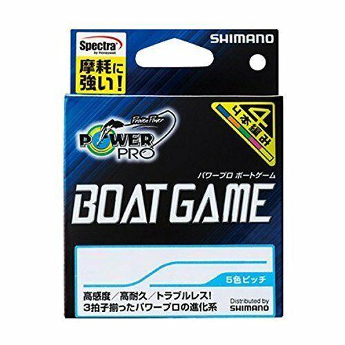 Shimano PE Line Power Pro Boat juego 300m  5.0 Línea de pesca PP-F72N de múltiples