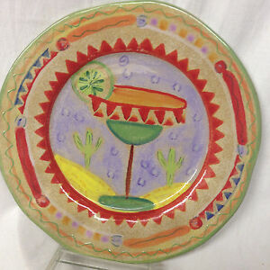 Image is loading AMBIANCE-COLLECTIONS-FIESTA-LUNCHEON-PLATE-9-034-MARGARITA-  sc 1 st  eBay & AMBIANCE COLLECTIONS FIESTA! LUNCHEON PLATE 9\