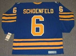 f3a69054180 Image is loading JIM-SCHOENFELD-Buffalo-Sabres-1976-CCM-Vintage-Throwback-