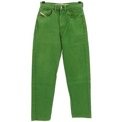 #4070 Diesel Jeans Uomo Pantaloni Cheyenne Denim Green Verde 30/28-