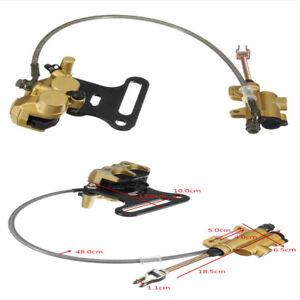 1x Hydraulic Rear Disc Brake Caliper with Master Cylinder /& Brake Pads System