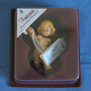 Fontanini Grandchild angel Christmas ornament Depose Italy ...