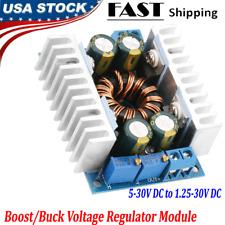 Boost Buck Voltage Module Step Updown Converter Regulator Dc 5 30v To 125 30v