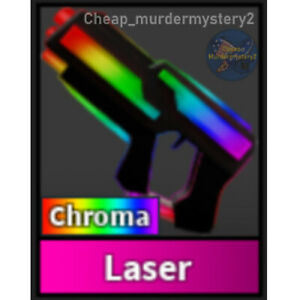 Murder Mystery 2 MM2 Chroma Laser Roblox *FAST DELIVERY* Read Description