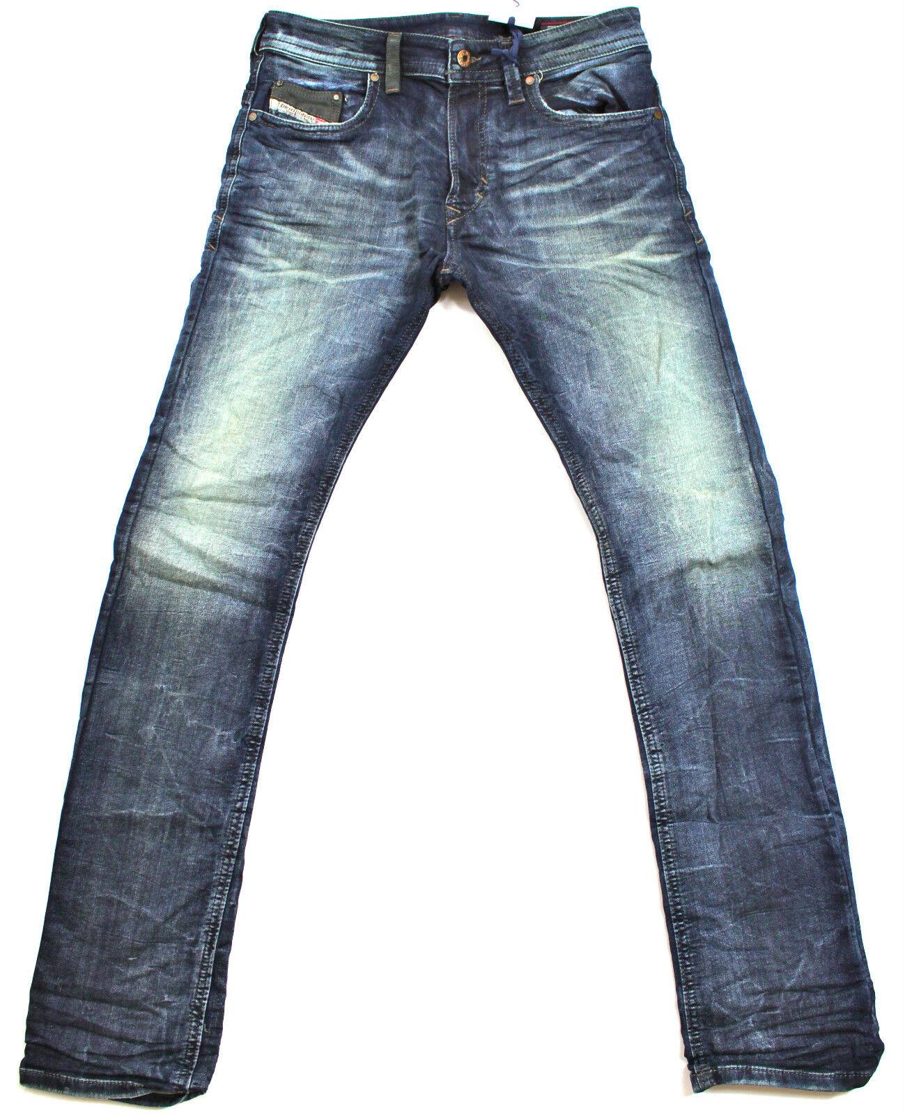 DIESEL Nuovo di Zecca THAVAR-NE 0600 S 28X30 600 S Slim-Skinny Fit