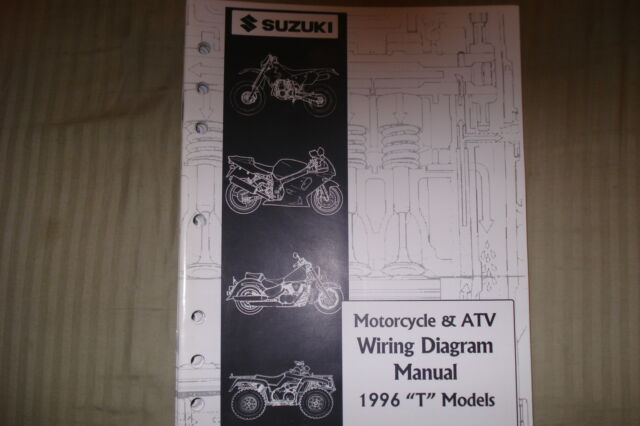 Suzuki Motorcycle  U0026 Atv Wiring Diagram Manual 1996  U0026quot T