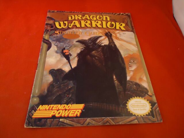 Dragon Warrior I Nintendo NES Nintendo Power Strategy Guide Player's Hint Book