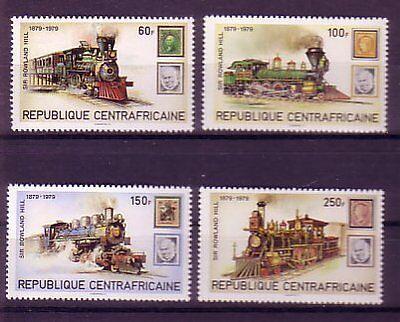 Hill : 42 Zentralafrika Michelnummer 648-651 Postfrisch äSthetisches Aussehen
