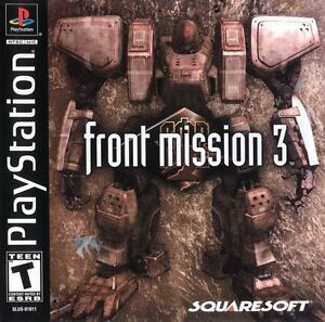 Front-Mission-3-PS1-Great-Condition-Fast-Shipping