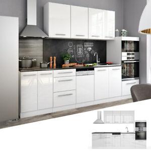 Dettagli su Cucina Vicco S-Line Cucina componibile Blocco cucina Cucina su  misura 295 cm