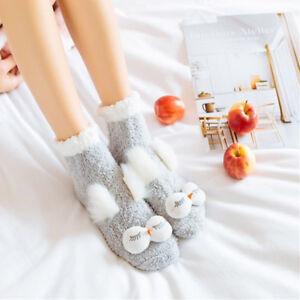 Fashion Ladies Women Girls Soft Fluffy Socks Warm Winter Cosy Lounge Bed Socks