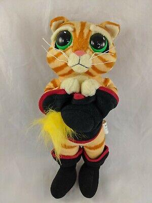 Hasbro Sad Eyes Puss In Boots Cat Plush 11 Shrek 2 2004 Stuffed Animal Toy Ebay