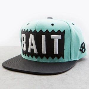 fd1c36fa2000fd BAIT x Mitchell And Ness Box Logo Snapback Cap - Leather Brim mint ...