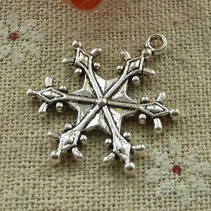 free-ship-80-pieces-tibetan-silver-snowflake-charms-29x23mm-2701