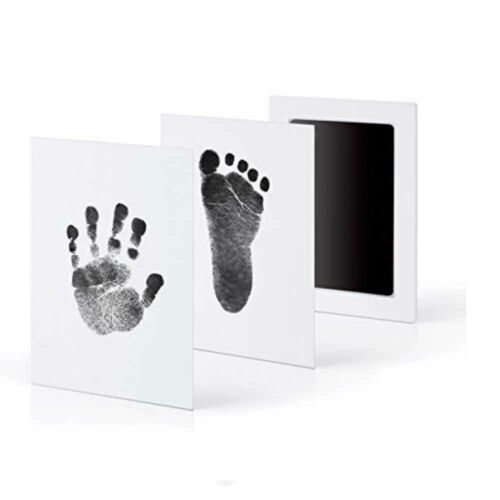 Baby Safe Inkless Touch Footprint Handprint Ink Pad Mess Free Commemorate clean