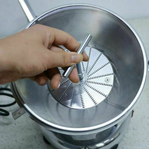 Commercial Electric Juicer Machine Stainless Steel Juice Extractor 110V