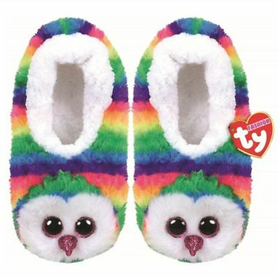 "unstretched 8.5/"" 4-6 Slipper Socks Kid/'s Size Large Ty Fantasia 9.125/""L"