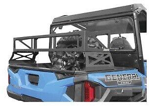 Dragonfire Racing RockSolid Black Spare Tire Carrier Polaris General Ranger