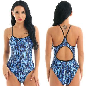 5720a8147 Women's One-piece Hollow Swimsuit Padded Bra Swimwear Monokini ...