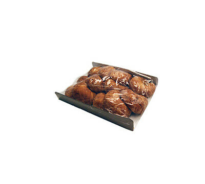 "500 pcs 6.5X10.5/"" Polyolefin Shrink Film Wrap Flat Bags w// Vent Hole Food Safe"