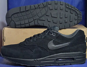promo code 3c93e 2d0a2 Image is loading Nike-Air-Max-1-Premium-Black-Anthracite-SZ-